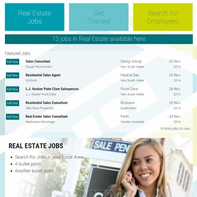 Get a Job in Real Estate