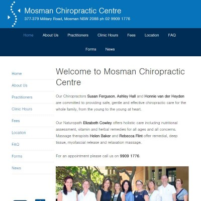 Mosman Chiropractic Centre